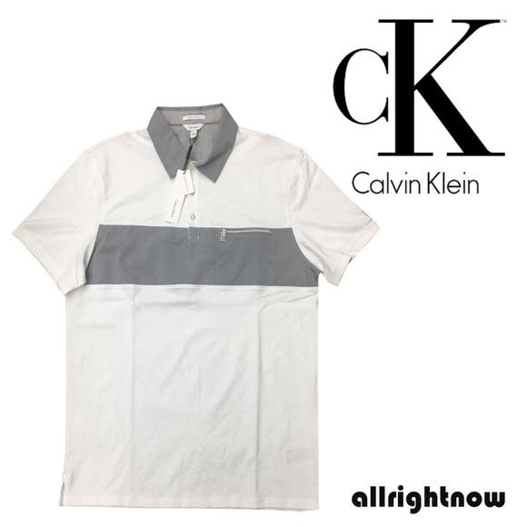 dcb4de832d Calvin Klein Shirts | Mens Nwt Liquid Touch Polo Shirt Wht | Poshmark